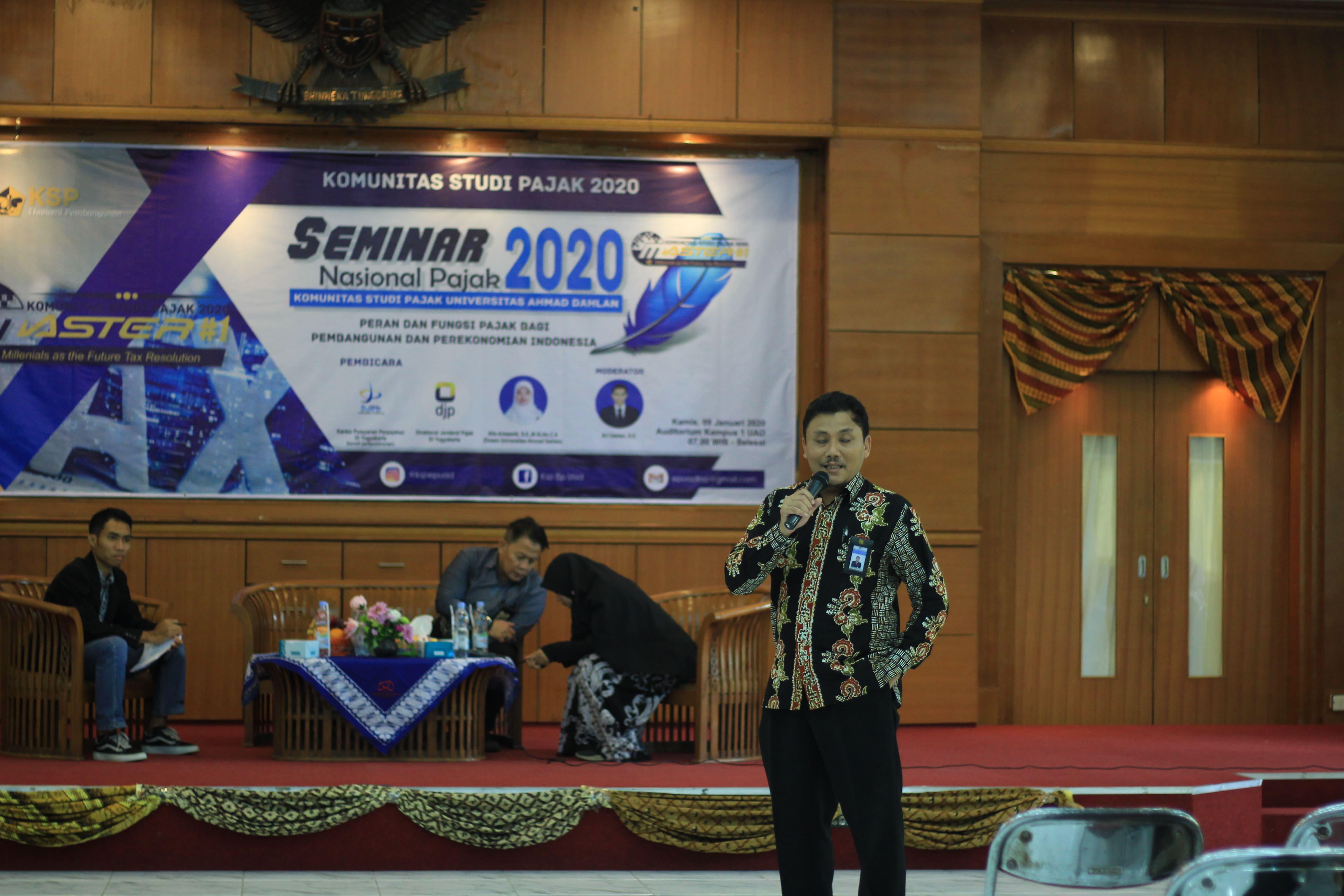 Seminar Nasional oleh Komunitas Study Pajak